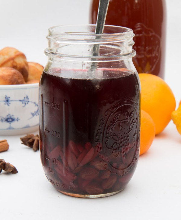 Mulled Wine or Glögg Extract the danish way