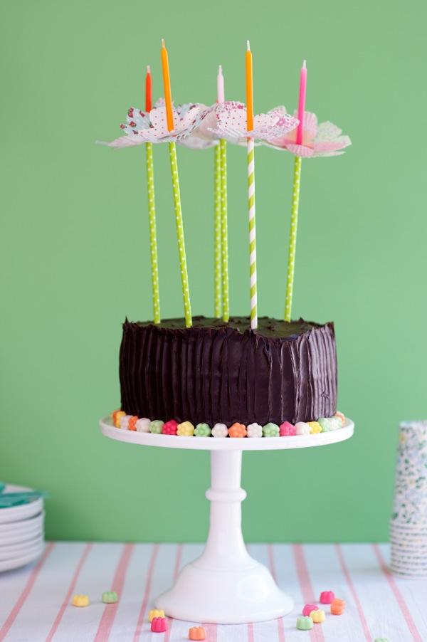 Bougies d'anniversaire jolies & qui ne coulent plus