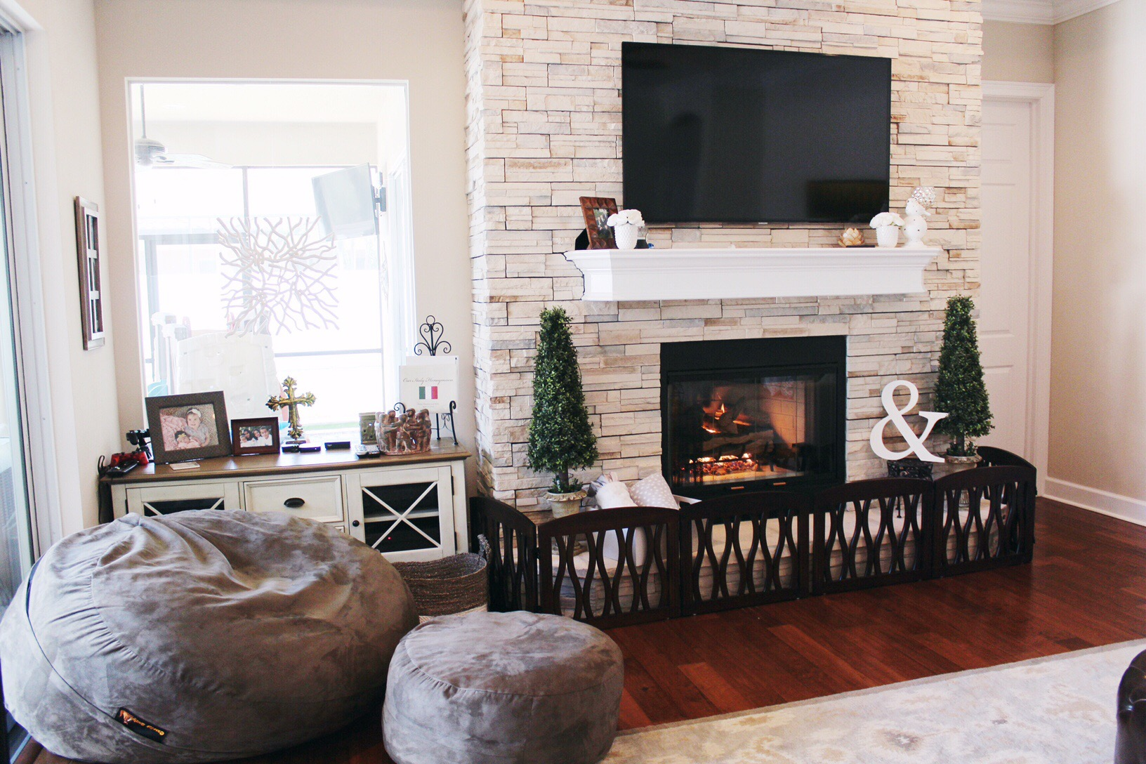 Kid Proof Fireplace