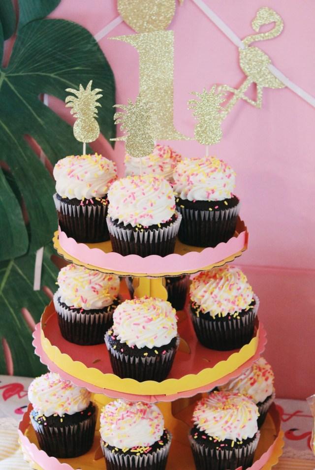 Cupcakes | Copacabana First Birthday Party