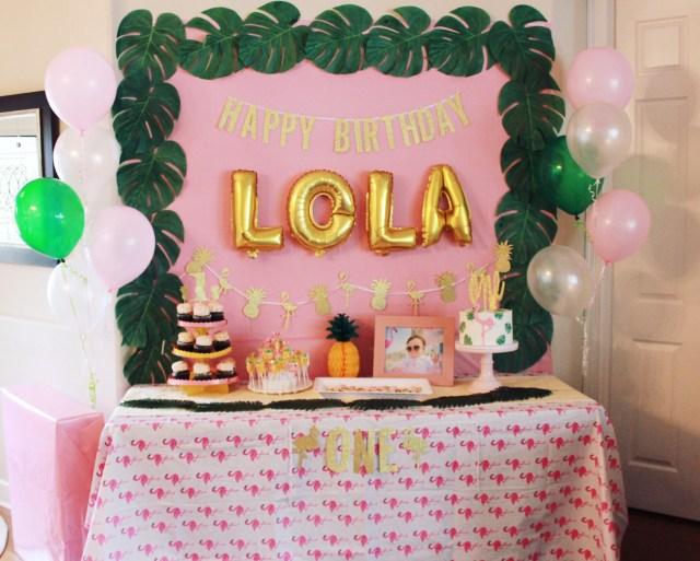 Copacabana First Birthday Party