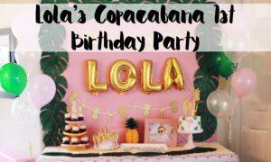 first birthday, Copacabana, her name was lola, lola, havana nights, tropical party, flamingo party, Copacabana party, fun to be one, first birthday, fruttie tuttie, birthday, party