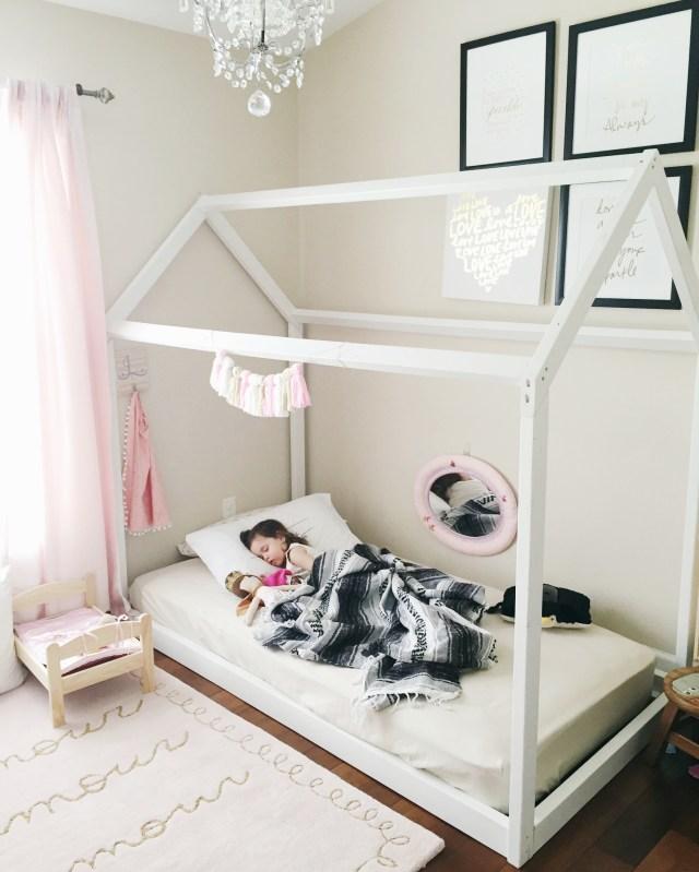 Montessori Floor Toddler bed   Toddler Floor Bed