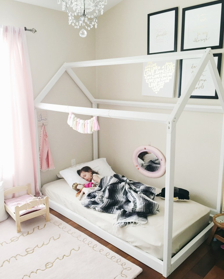 Montessori Toddler Bed Diy
