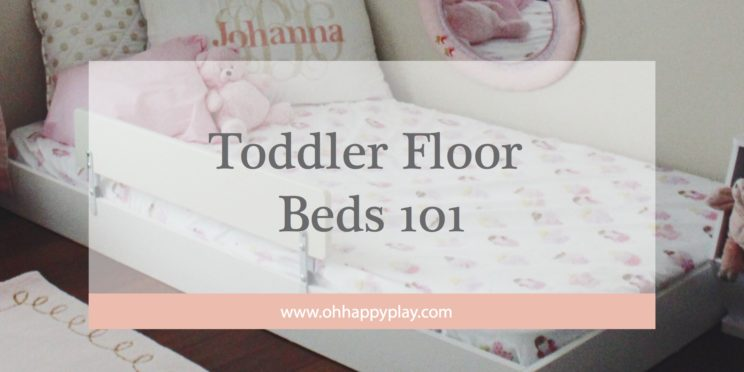 Montessori Floor Toddler bed, floor bed, toddler bed, toddler floor bed, montessori bedroom, toddler montessori, house frame bed, toddler beds, modern