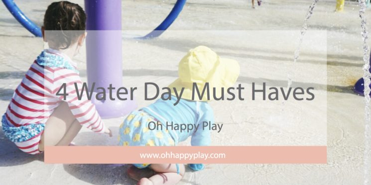 4 Water Day Must Haves