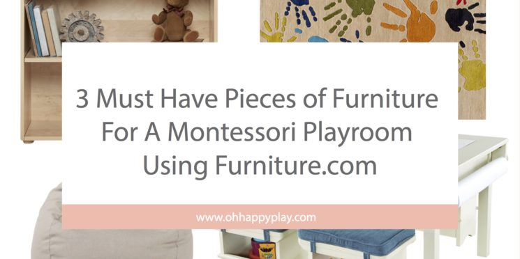 3 Must Have Pieces of Furniture For A Montessori Playroom Using Furniture.com