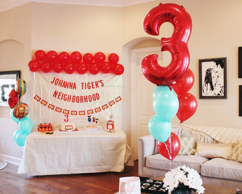 Daniel Tiger Birthday Party For Kids 3rd 1st