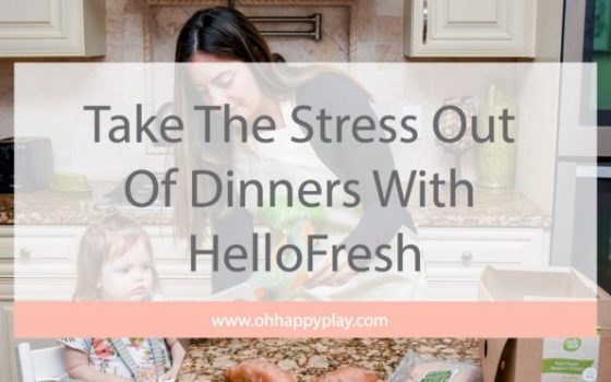 Take The Stress Out Of Dinners With HelloFresh