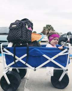 4 beach hacks with toddlers, beach with kids, vacation with small kids, beach trip, summer vacation, kids, toddler vacation, beach cart, save your seat cover, beach umbrella