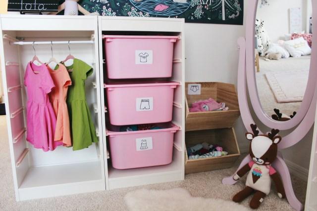 DIY Wardrobe Station | Childs Room | Oh Happy Play