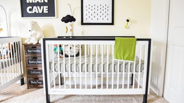 Monochrome Nursery Reveal