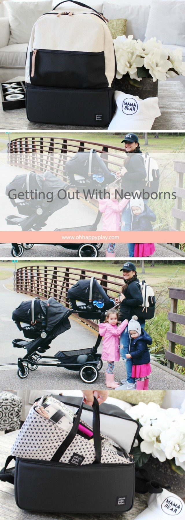 Sometimes getting out with newborns is a daunting task but it doesn't have to be. Oh Happy Play, Florida Motherhood blogger shares some tips!