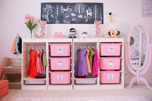 DIY Wardrobe Station | Shared Room