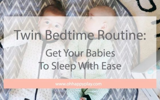 Twin Bedtime Routine:  Get Your Babies To Sleep With Ease