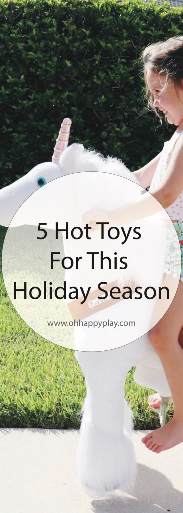 Looking for christmas gifts for little ones? Check out the 5 Hot Toys for This Holiday Season. Check it out now from Oh Happy Play!