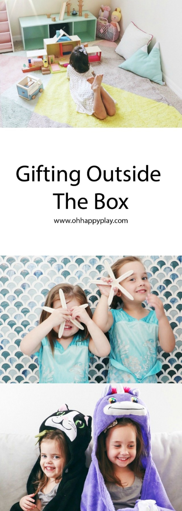 "Do you want to be the unique and ""outside the box."" gift giver? Check out how to gifting outside the box works with Oh Happy Play!"
