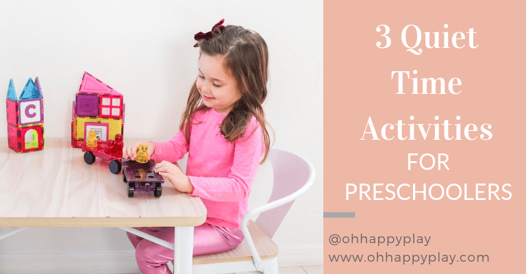 quiet time, quiet time activities, transition to no nap, toddler quiet time, preschooler quiet time
