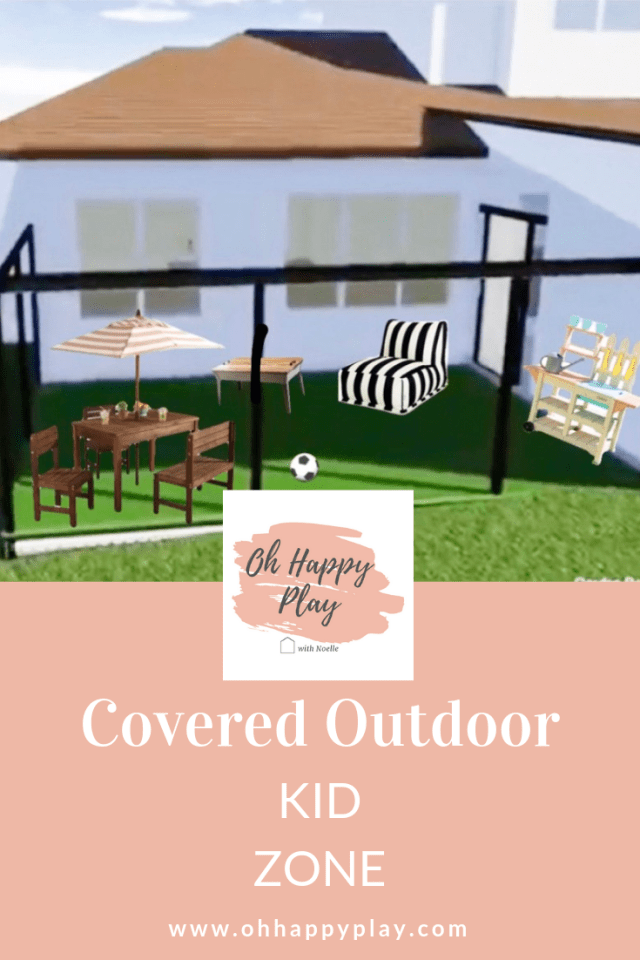 pool design, home plans, outdoor kid play area, outdoor kid zone, shaded kids play area, custom home kids play area, outdoor kid activities