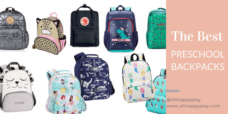 The Best Preschool Backpacks For Back To School Time - Oh
