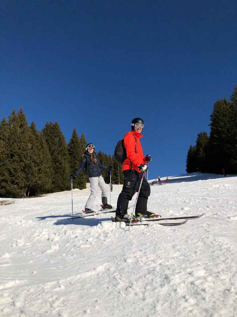 skiing in megeve