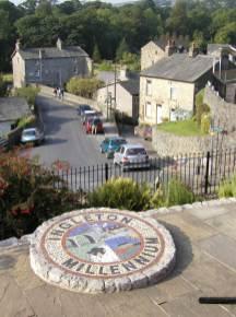 Photo taken of part Ingleton Village