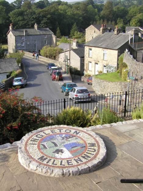 Photo taken of part Ingleton Village