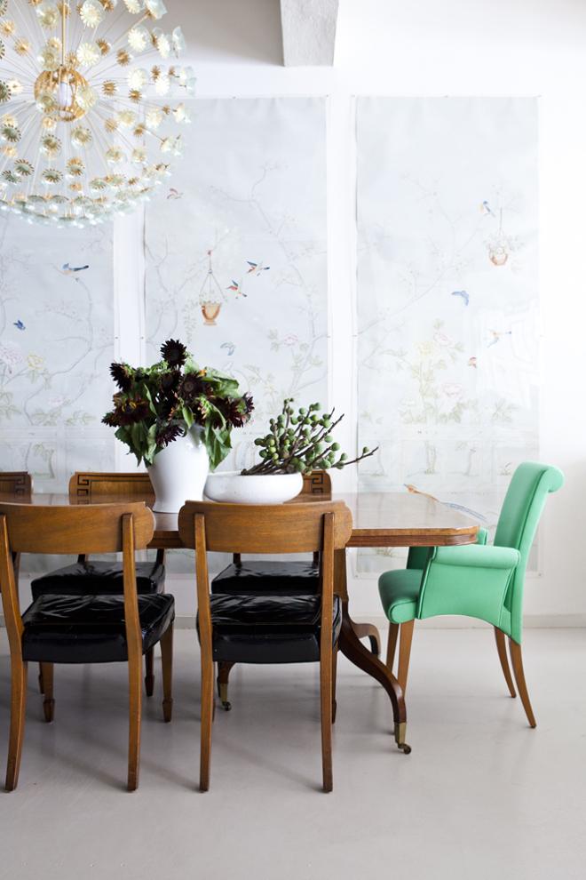 dining room post via ohidesignblog