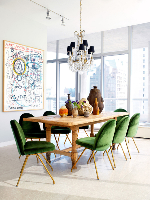 BRING DIFFERENT AND FUNKY TO THE DINING ROOM TABLE - Oh, I Design ...