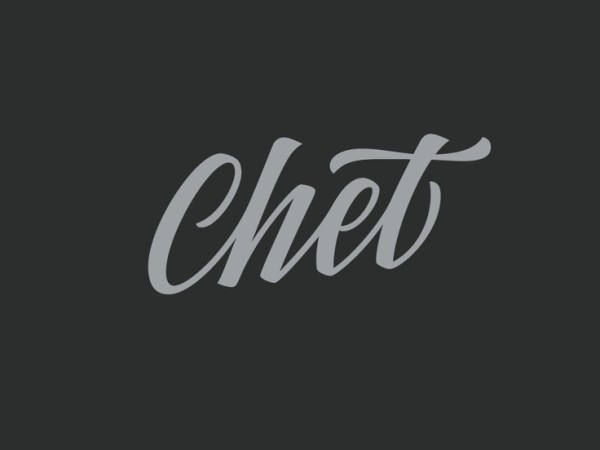 listening to: chet faker via oh, i design blog
