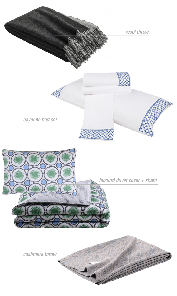 Frette Favorites via Oh, I Design Blog