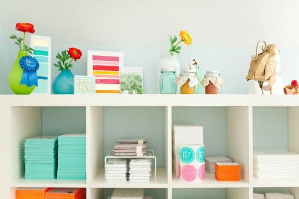 bookcases via oh, i design blog