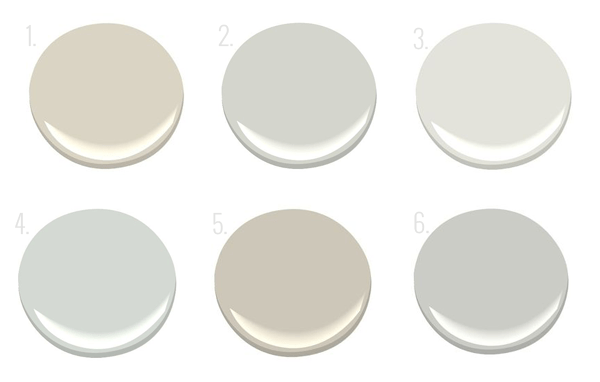 My go to neutral paint colors part one oh i design for Neutral blue grey paint color