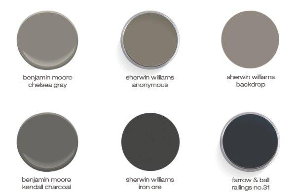 paint colors via, oh, i design blog