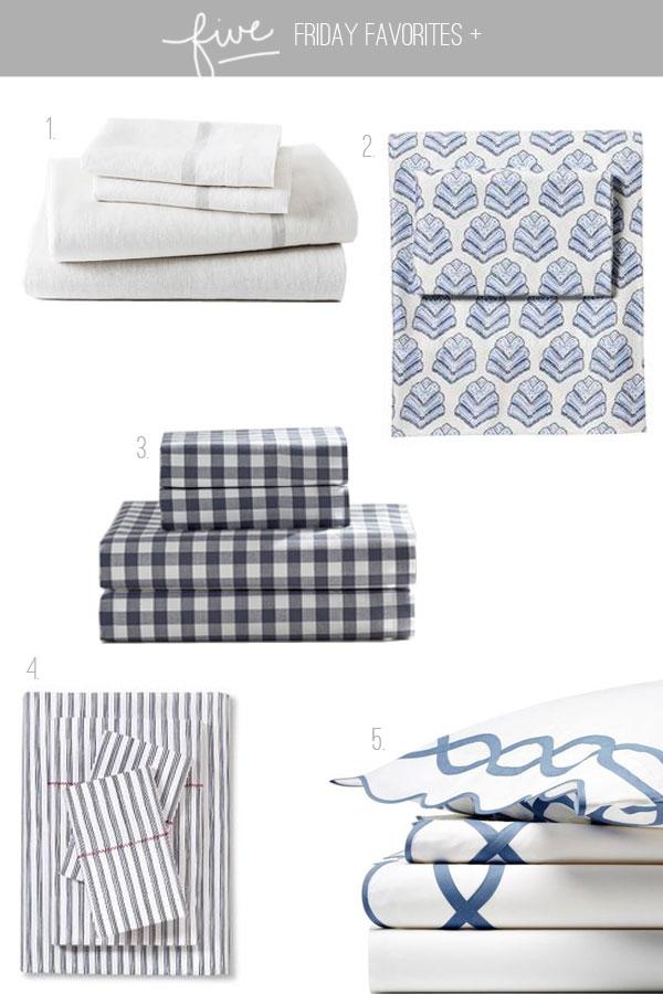 five-friday-favorites-sheet-sets