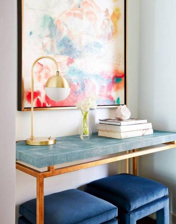 Velvet Trend: Interiors // via Oh, I Design Blog