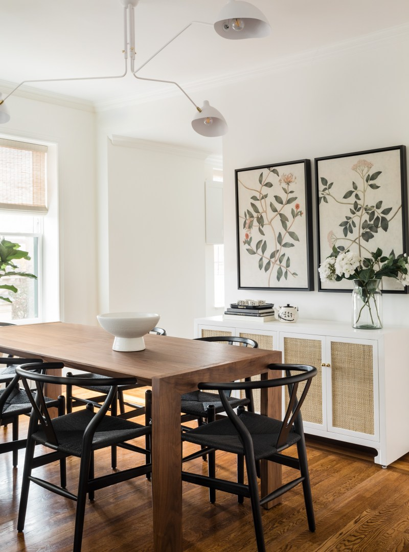 Bright and Modern Dining Room