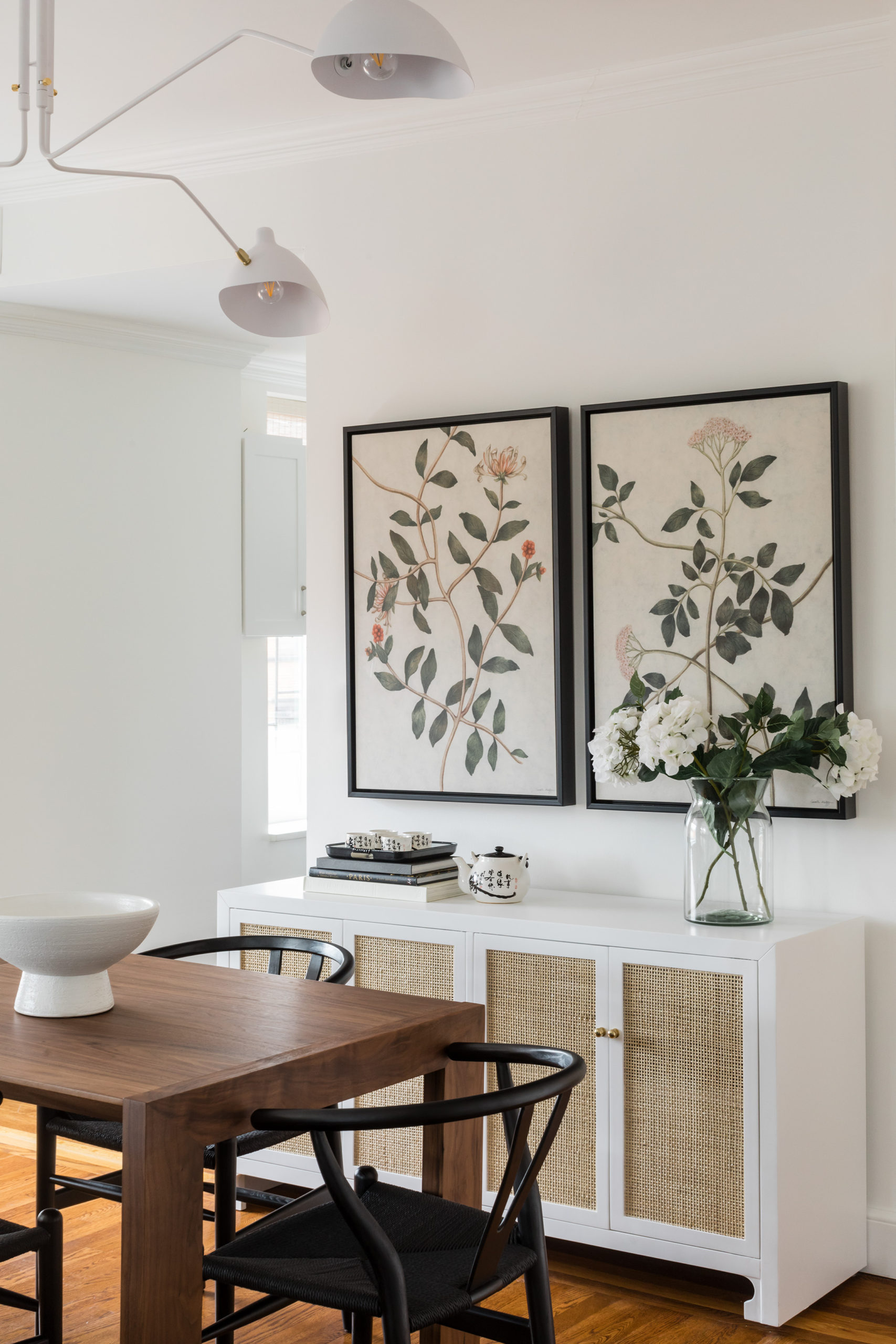 Light and Modern Dining Room