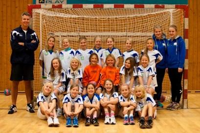 Håndball Lagbilde jenter 2003 2012_13