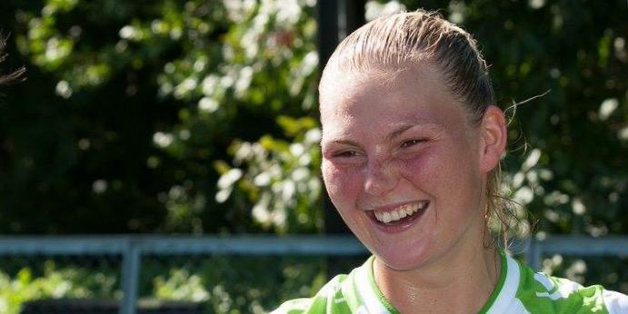 Iselin Nitter scoret det viktige 0-1-målet i 1. divisjonskampen mot Fart lørdag.