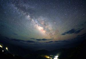 青ヶ島村の星空
