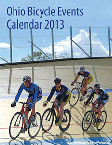 Cover: 2013 Ohio Bicycle Events Calendar