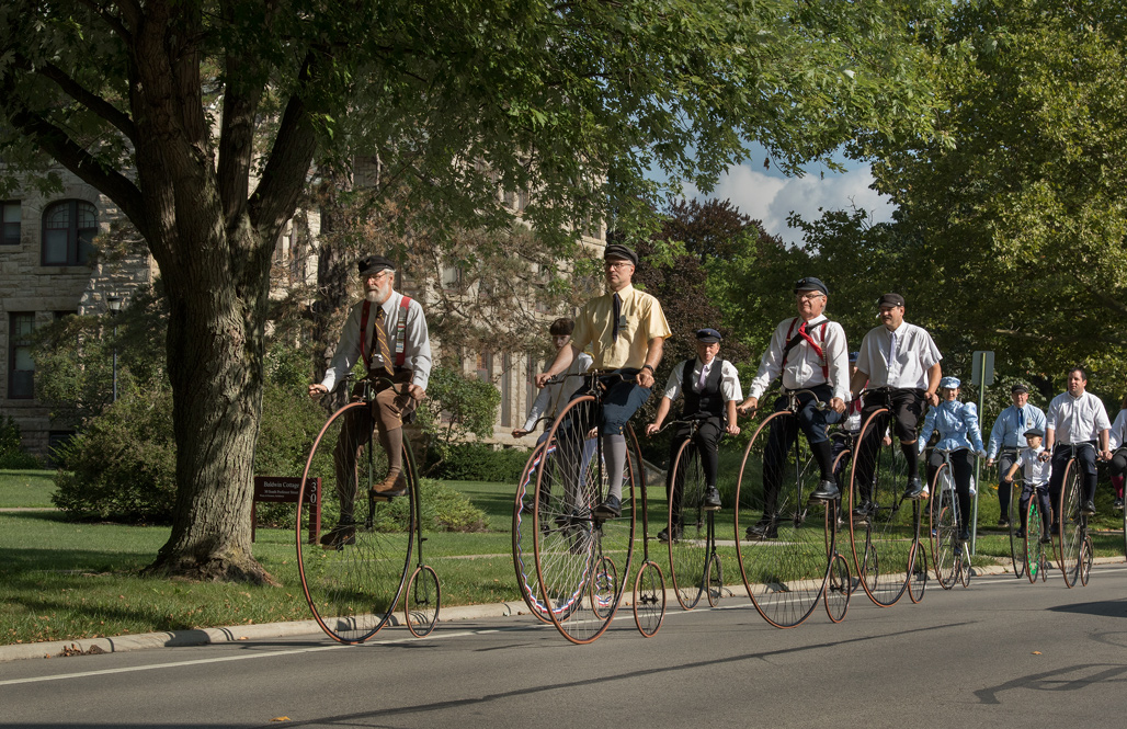 The Wheelmen - 2019 National Meet in Oberlin. Photo by James Guilford.