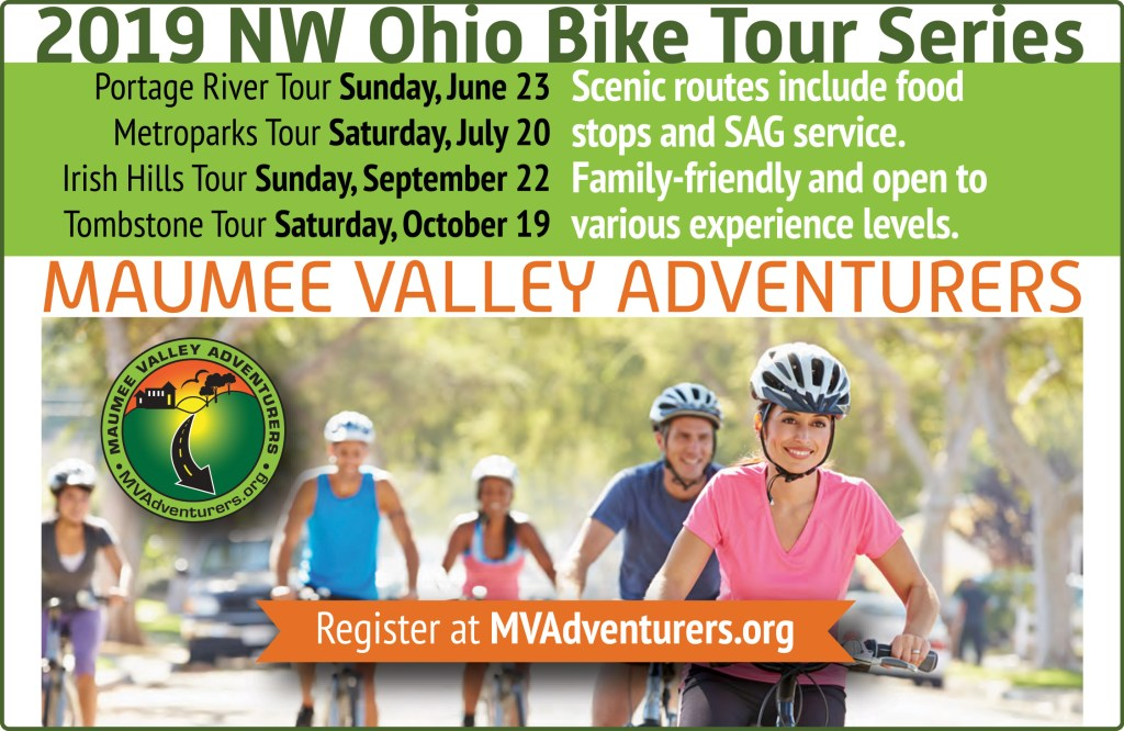 Image: Ad for 2019 Maumee Valley Adventurers