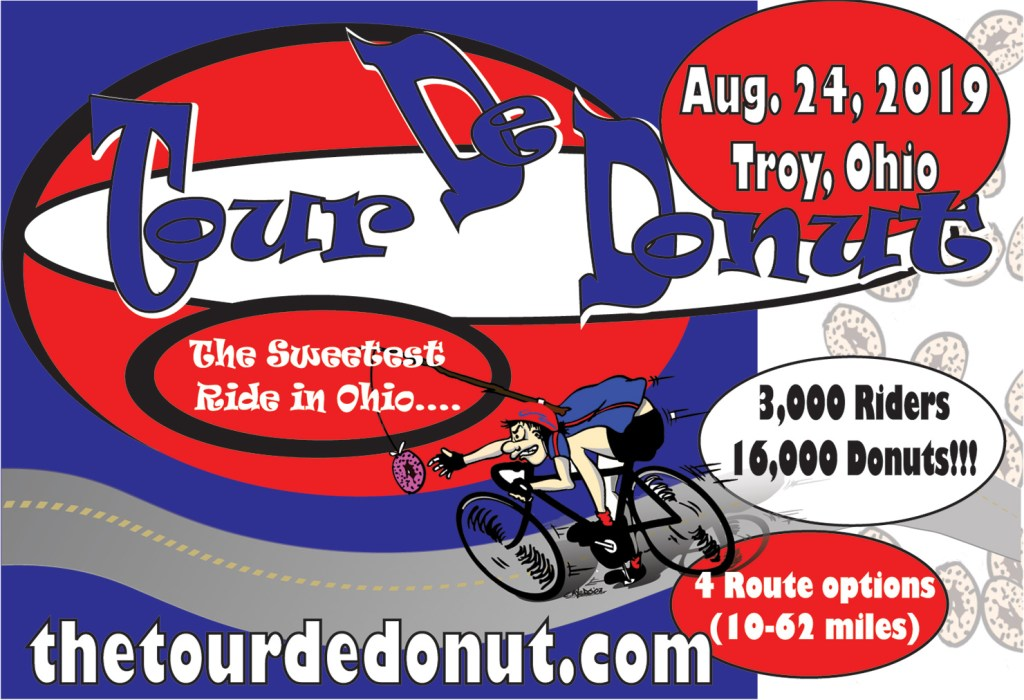 Image: Ad for 2019 Tour de Donut