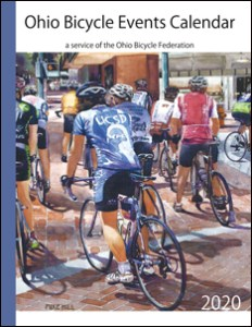 Cover of the 2020 Ohio Bicycle Events Calendar