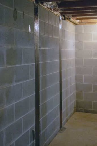 Carbon Fiber wall repair