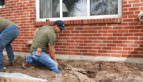 Our Foundation Repair Experts can help you