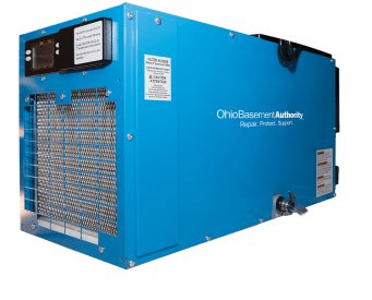 OBA branded dehumidifier