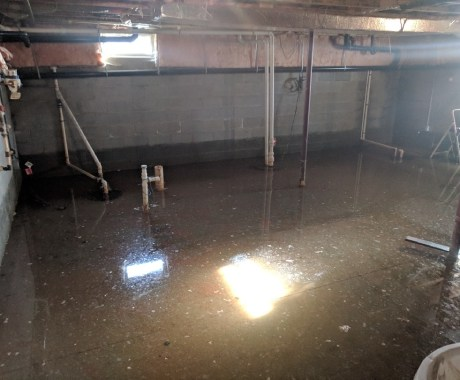 Correcting a Wet Basement in Columbus, OH, for Future Owners